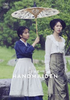 The Handmaiden...erotic, beautiful, funny, heartbreaking! A Secret Cinema experience. Gorgeous score by Yeong-wook Jo