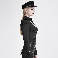 Gothic Military Uniform-Bluse Armada