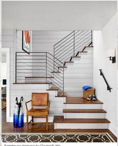 Escalier et garde