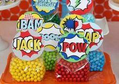 Wants and Wishes: Party planning: Vintage Superhero Birthday Party Collection. Harry Birthday, Superhero Birthday Party, Birthday Party Themes, Superhero Treats, Theme Parties, Spider Man Party, Avenger Party, Superman Party, Wonder Woman Birthday