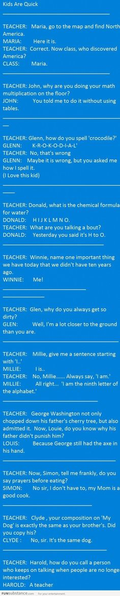 Kids vs Teacher! lol! i will never forget this!
