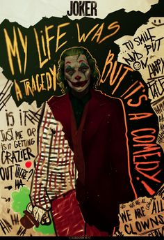 Joaquin Phoenix's Joker Joker Batman, Comic Del Joker, Joker Y Harley Quinn, Joker Heath, Joker Photos, Joker Images, Images Gif, Joker Poster, Comic Poster