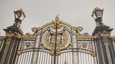 """""""God Save the Queen"""" Goodbye April. by jeannewmanglock Visit Britain, Save The Queen, Buckingham Palace, London, God, Gates, Instagram Posts, Travel, Dios"""