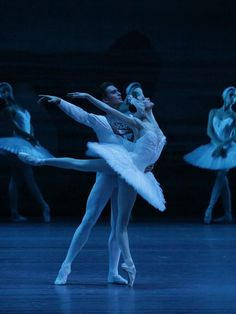 Swan Lake with Svetlana Zakharova and Denis Rodkin from Bolshoi Ballet