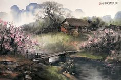 Zhao Wuchao. Chinese Landscape Painting ~ Blog of an Art Admirer