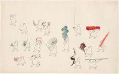 Saul Steinberg American, born Romania, 1914-1999, Parade