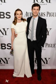 Leighton Meester and Adam Brody at the 2014 Tony's