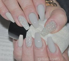 Light Grey with Off White and Diamond