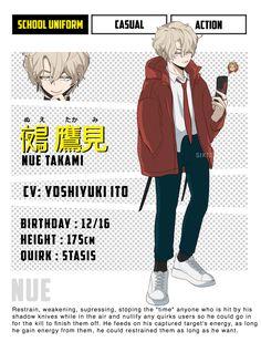 Hero Academia Characters, My Hero Academia Manga, Boku No Hero Academia, Cat Character, Character Design, Hell Girl, Hero Costumes, Anime Oc, Dark Souls
