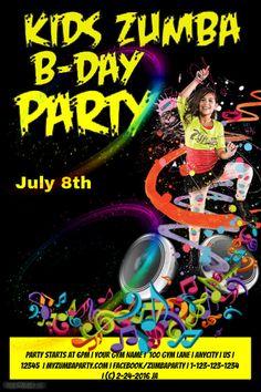 9 Best Zoe 5 Images Invitations Dance Party Birthday Birthday