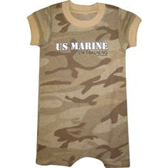 Infant's Marine In Training Camo Romper | Infant and Toddler Clothing | Kids | Sgt Grit - Marine Corps Store