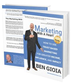 """""""Marketing with a Heart"""" book design by Anywhere Creative.  5-star rated book in Amazon. Check it out! http://www.amazon.com/Marketing-With-Heart-Greater-Influence/dp/0692316760"""