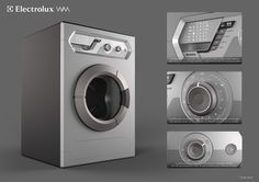 WM - Washing Machine Concept on Industrial Design Served