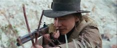 The Missing Cate Blanchett   Cate Blanchett aims her Winchester Model 1866 Yellow Boy as Magdalena ...