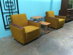 Mid Century Vintage Cool Chairs  Dealer #3333  $180 Each   OR  $350 Pair  Lucas Street Antiques Mall 2023 Lucas Dr.  Dallas, TX 75219  Read more: http://dallas.ebayclassifieds.com/chairs/dallas/mid-century-vintage-cool-chairs/?ad=39727066#ixzz3cbCyK9Mc