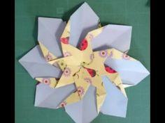 Origami Flower - Flor 8 pétalos Origami