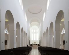 Curbed visits a 1,000-year-old church in Germany that was given a minimalist renovation by architect John Pawson.