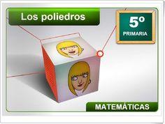 Los poliedros de 5º de Primaria (Junta de Castilla La Mancha)