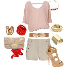 """""""Summer Date Night"""" by dooce on Polyvore"""