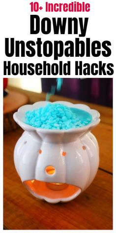 Epic Downy Unstopables Household Hacks - Unusual Downy Unstopables household tips, tricks and hacks. Household Cleaning Tips, Homemade Cleaning Products, House Cleaning Tips, Cleaning Hacks, Household Products, Cleaning Supplies, Spring Cleaning, Cleaning Solutions, Household Cleaners