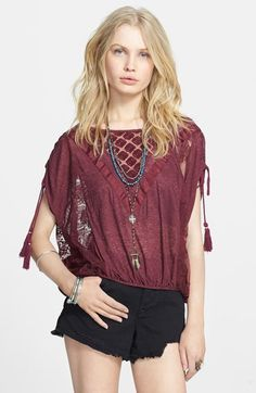Free People 'South of the Equator' Top available at #Nordstrom