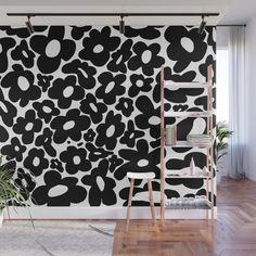 Flower Mural, Flower Room, Flower Wall, Bedroom Murals, Bedroom Wall, Bedroom Decor, Master Bedroom, Wall Decor, Mural Wall Art