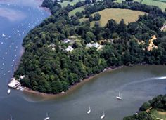 Greenway, set on a peninsula along the River Dart