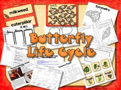 Monarch Butterfly Life Cycle; Powerpoint, QR Codes, Mini-book, Graphic Organizers and more; $