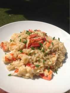 A Couple in the Kitchen - Lobster Risotto