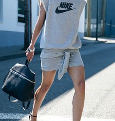 53 Ideas sport chic outfit work outs Style Casual, Casual Chic, Style Me, Casual Wear, Sport Chic, Sport Style, Mode Outfits, Chic Outfits, Doutzen Kroes