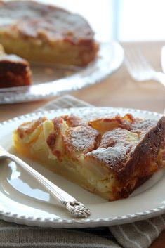 Profumi in cucina: Bolzano apple Cake Pasta Frolla Recipe, Apple Recipes, Cake Recipes, Desserts Around The World, Torte Cake, Plum Cake, English Food, Great Desserts, Daily Meals