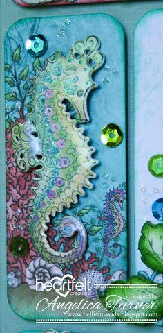 Bellisima Vida: New Under the Sea Collection from Heartfelt Creations