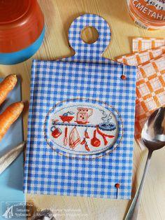 Stitches Wow, Cross Stitches, Cross Stitch Kitchen, Embroidery Bags, Cross Stitch Alphabet, Kitchen Themes, France, Needlepoint, Needlework