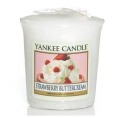Yankee Candle Votive Strawberry Buttercream - Candlestore.fr
