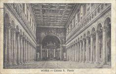 ROMA (1915) Chiesa S. Paolo