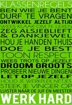 www.nazia.nl – De klas enzo… | basisonderwijs: een verzameling voor leerkrachten I Love School, Back To School, Co Teaching, Leader In Me, 21st Century Skills, Dutch Quotes, Teacher Inspiration, Skill Training, School Posters