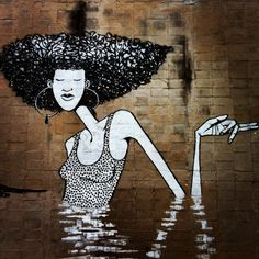 Street art in Sao Paulo (Santana), Brazil, by artist Apolo Torres. Photo by…