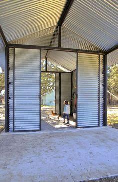 2013 RADA / Outbuilding / Merit Award: Garden Gateway, Sisterdale, Texas / John Grable Architects