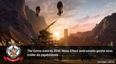 Trailer mostra como será a exploração dos planetas e batalhas (frenéticas) contra os adversários.  #MassEffect #MassEffectAndromeda