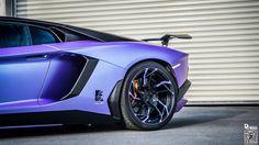 DMC Lamborghini Aventador Is A Raging Purple Haze