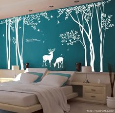 трафареты деревьев для стен: 13 тыс изображений найдено в Яндекс.Картинках