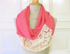 DIY refashion pink & lace - wow this is amazing.