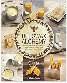 I wrote a book! Beeswax Alchemy - How to Make Your Own Soap, Candles, Balms, Creams, and Salves from the Hive This is a DIY recipe book of everything Beeswax. From candles to body care product to art related projects. I cover it all. The book will be av Homemade Home Decor, Homemade Furniture, Save The Bees, Lotion Bars, Diy Lotion, Soap Recipes, Beeswax Recipes, Diy Candles, Homemade Candles