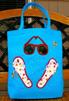 SALE Use coupon BAGS50 and save 50% Hand Painted by ipaintitpretty