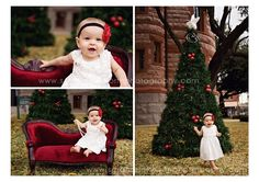 I love the chair and a pretty dress with a mini tree that big tree will be a bit much for just little old me to handle