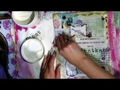 Ways to Seal Your Art Journal Pages...  it's just a little faq/fyi/show-n-tell sorta video to help clear up the question 'how to I seal/prevent sticky pages' in which I give away my secret weapon for super-fab sealed pages =)