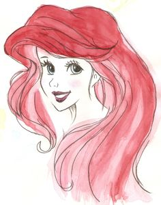 Ariel watercolor