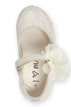 Girls off white rock glitter mary jane flats with glitter chiffon buy ivory bridesmaid shoe younger girls from the next uk online shop mightylinksfo