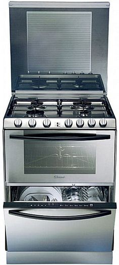I think I just peed myself.  And then I cried.  It's a stove, an oven, and a dishwasher ALL IN ONE!  Damn Europeans get all the awesome stuff.