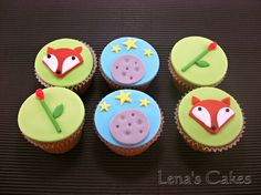 Little Prince Themed Cupcakes.. One of the most amazing books ever written!